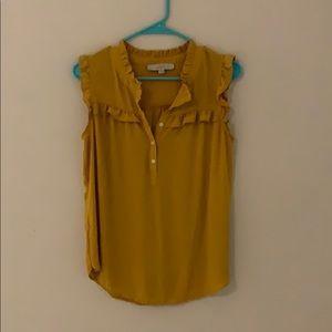 Sleeveless LOFT blouse